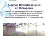 Algunas consideraciones hidropónicas